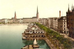 Hamburg - Jungfernstieg